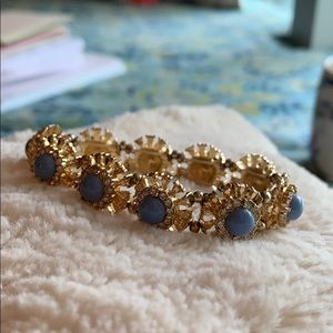 Beautiful Gold and Blue Bracelet